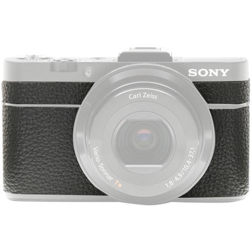 Japan Hobby Tool Camera Leather Decoration Sticker for Sony RX100 II Digital Camera (4008 Black)