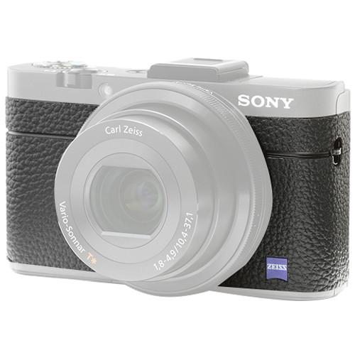 Japan Hobby Tool Camera Leather Decoration Sticker for Sony RX100 V Digital Camera (4008 Black)