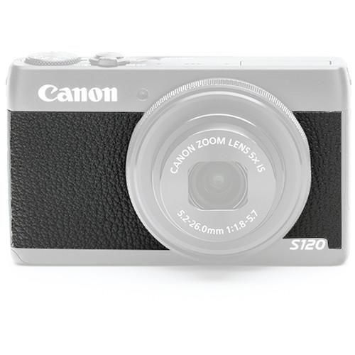 Japan Hobby Tool Camera Leather Decoration Sticker for Canon Power Shot S120 Digital Camera (4308 Black)