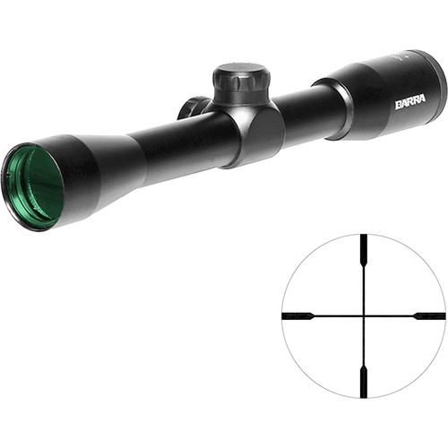 "Barra Optics H20 4x32 IR Hunting Riflescope (""A"" Reticle, Matte Black)"