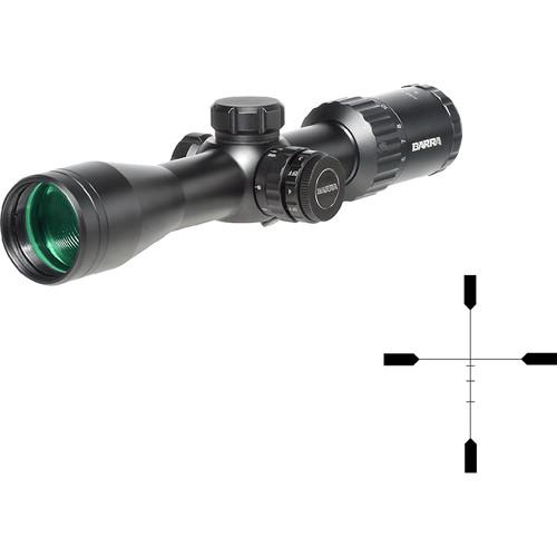 Barra Optics H30 4-12x40 SFIR Side Focus Hunting Riflescope (H1R BDC Illuminated Reticle, Matte Black)