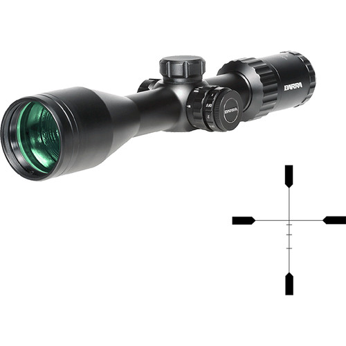 Barra Optics H30 4-16x50 SFIR Side Focus Hunting Riflescope (H1R BDC Illuminated Reticle, Matte Black)