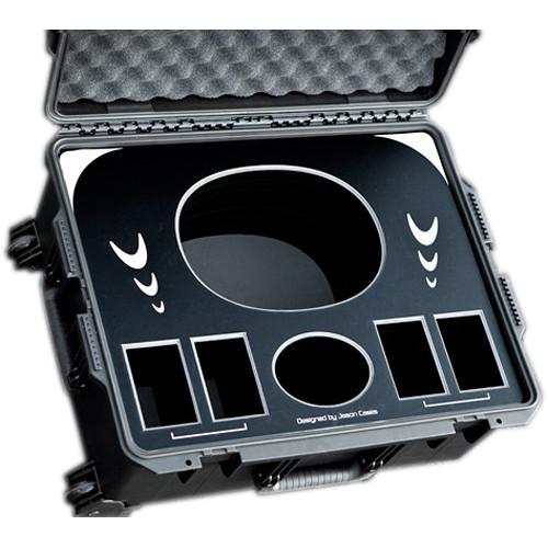 Jason Cases Wheeled Case with Foam for Anton Bauer Digital 90 Battery Kit (Black)
