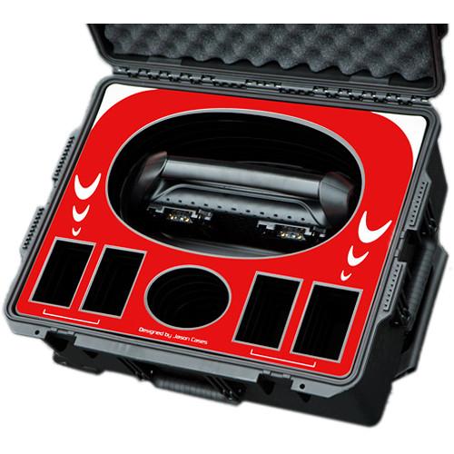 Jason Cases Protective Case for Four Anton Bauer D90 Batteries & Performance Quad Charger