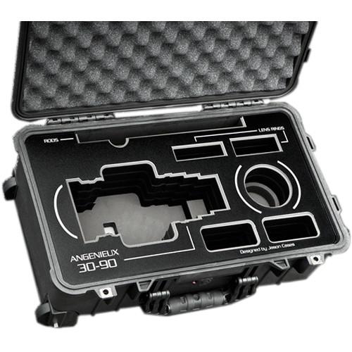 Jason Cases Lens Case with Wheels for Angenieux EZ-2 15-40mm