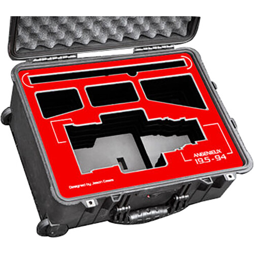 Jason Cases Hard Case for Angenieux Optimo 19.5 to 94mm Zoom Lens