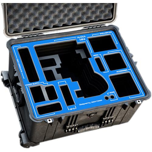 Jason Cases Protective Wheeled Case for ARRI ALEXA Mini & ARRI Plates
