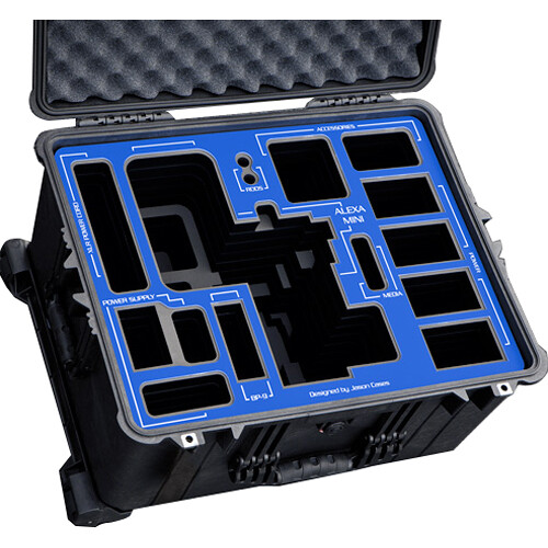 Jason Cases Protective Wheeled Case for ARRI ALEXA Mini & Tilta Plates
