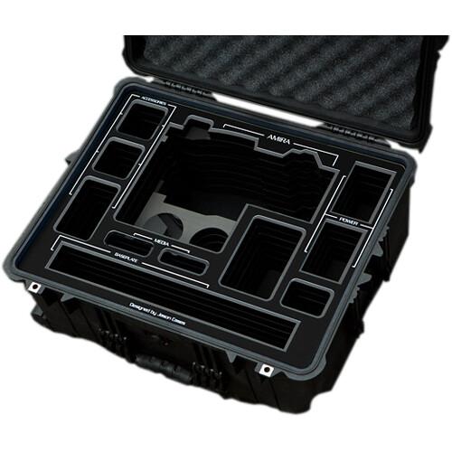 Jason Cases Hard Travel Case for ARRI AMIRA Kit (Black Overlay)