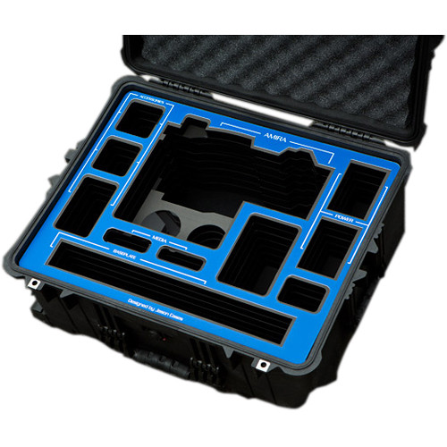 Jason Cases Hard Travel Case for ARRI AMIRA Kit (Blue Overlay)