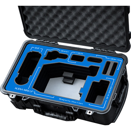 Jason Cases ARRI Alexa Mini LF Cage with ARRI Plates