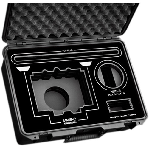 Jason Cases Protective Case for ARRI MMB-2 Mattebox & MFF-2 Follow Focus (Black Overlay)
