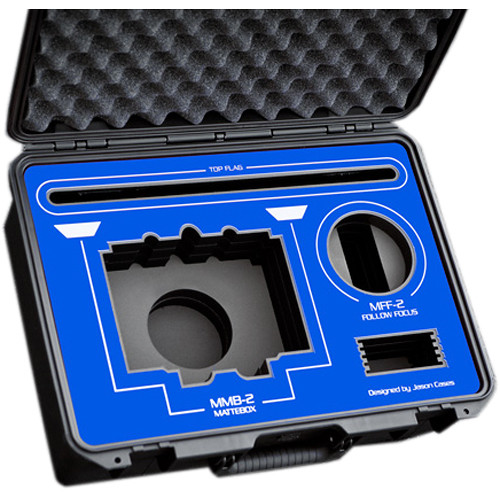 Jason Cases Protective Case for ARRI MMB-2 Mattebox & MFF-2 Follow Focus (Blue Overlay)