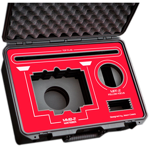 Jason Cases Protective Case for ARRI MMB-2 Mattebox & MFF-2 Follow Focus (Red Overlay)