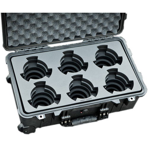 Jason Cases Protective Case for Set of 6 Arri Ultra Prime Lenses (Compact)