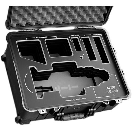 Jason Cases Protective Case for Arri UWZ 9.5-18mm Lens (Black Overlay)