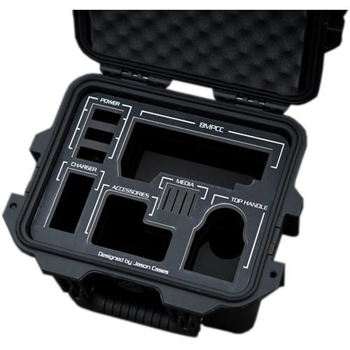 Jason Cases Hard Case for Blackmagic Pocket Cinema Camera Kit (Black Overlay)