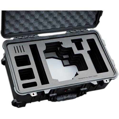 Jason Cases Compact Hard Case with Custom Foam for Blackmagic Design URSA Mini Camera