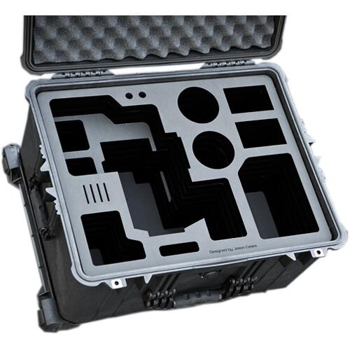 Jason Cases Hard Case with Custom Foam for Blackmagic Design URSA Mini & Bottomplate
