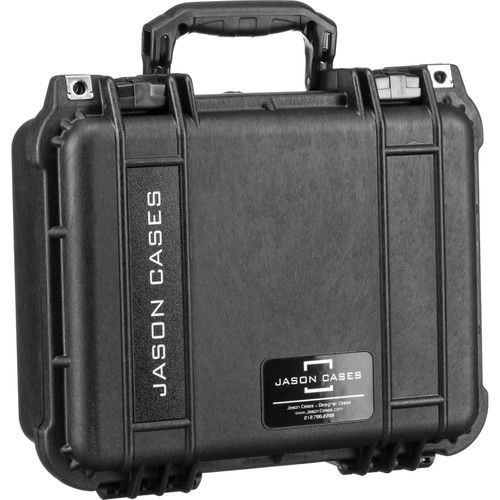 "Jason Cases Hard Travel Case for Blackmagic Video Assist 5"" Recording Monitor (Red Overlay)"