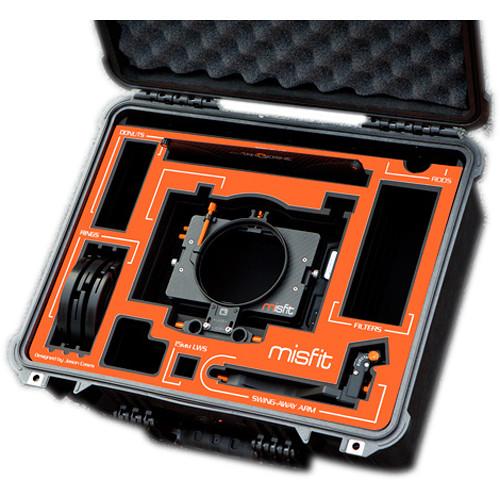 Jason Cases Protective Case for Bright Tangerine Misfit Matte Box