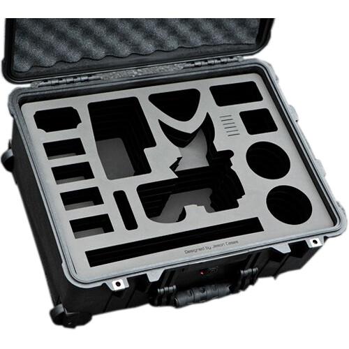 Jason Cases Wheeled Case with Custom Foam for Canon EOS C100 Mark II