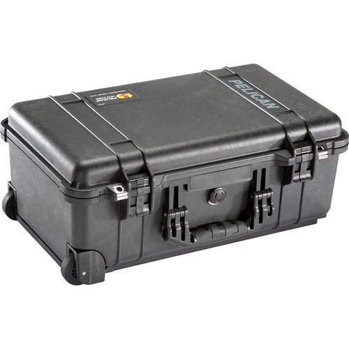 Jason Cases Hard Travel Case for Canon C100 Camera Kit (Red Overlay)