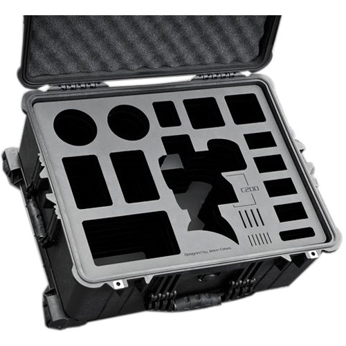 Jason Cases Custom Hard Case for Canon C200 Camera