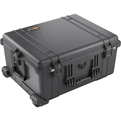 Jason Cases Hard Case with Custom Foam for Canon EOS C200 (Red Overlay)