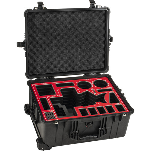 Jason Cases Canon C500 Mark II Case with RED Overlay
