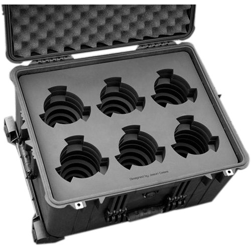 Jason Cases Protective Case for 6 Cooke S5i Prime Lenses