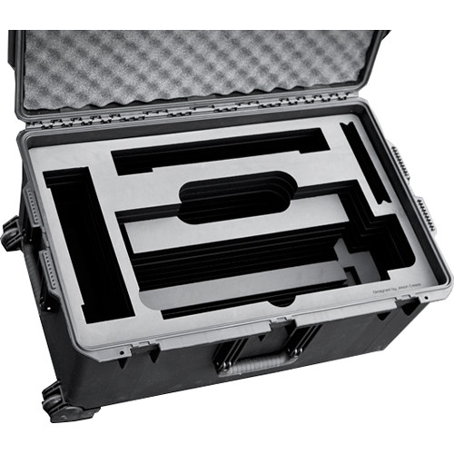 Jason Cases Hard Travel Case with Wheels for Cineo HS2 Light (Black)