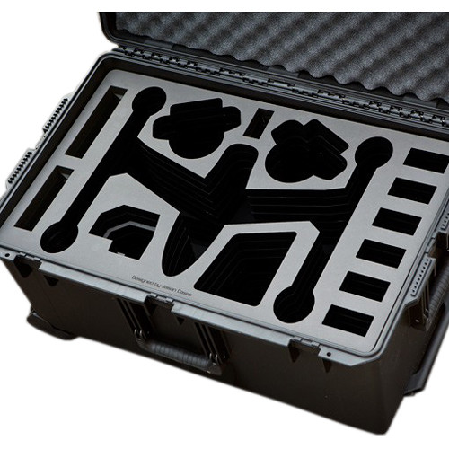 Jason Cases Protective Case for DJI Inspire Quadcopter