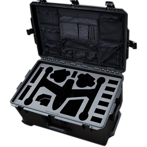 Jason Cases Protective Case for DJI Inspire Quadcopter with Zipper Lid