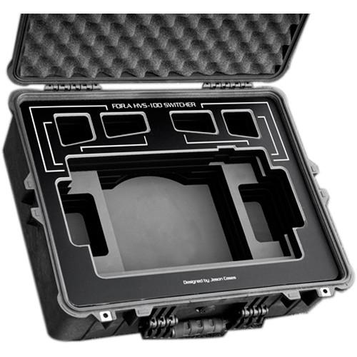 Jason Cases Carry Case for For.A HVS-100 Switcher (Black Overlay)