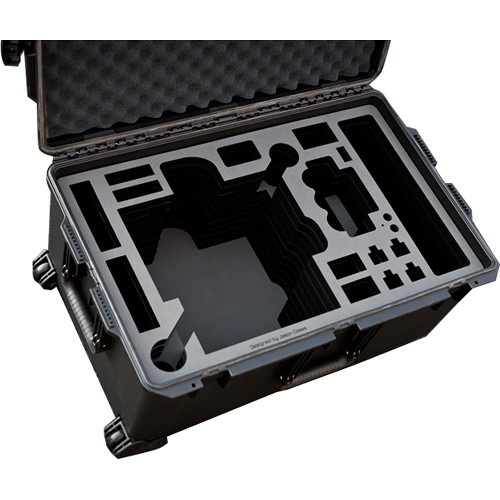Jason Cases Protective Pelican Case for Freefly MoVI M10 Gimbal Stabilizer with Cage