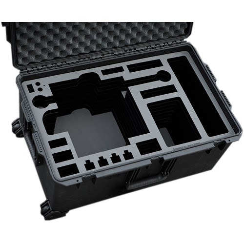 Jason Cases Protective Pelican Case for Freefly MoVI M10 Gimbal Stabilizer with Cage and Toad-in-the-Hole