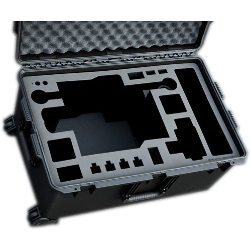 Jason Cases Protective Pelican Case for Freefly MoVI M15 Gimbal Stabilizer with Toad-in-the-Hole & Controller