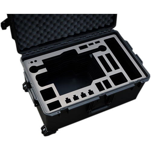 Jason Cases Pelican Case for FREEFLY MoVI M15 Gimbal with Toad in the Hole Quick Release