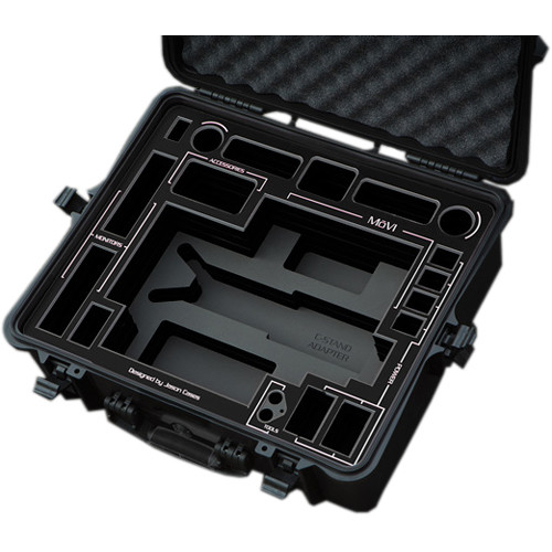 Jason Cases Compact MoVI M5 Case for Gimbal Stabilizer and Accessories (Black Overlay)