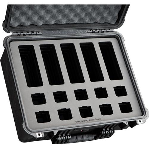 Jason Cases Custom Hard Case for MoVI Pro Battery & Charger