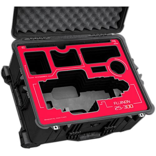 Jason Cases Fujinon Cabrio ZK 25-300mm T3.5 Zoom Lens Case