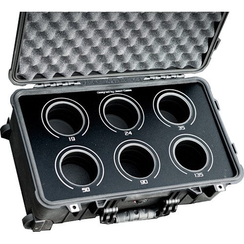 Jason Cases 6-Lens Case for Leica R