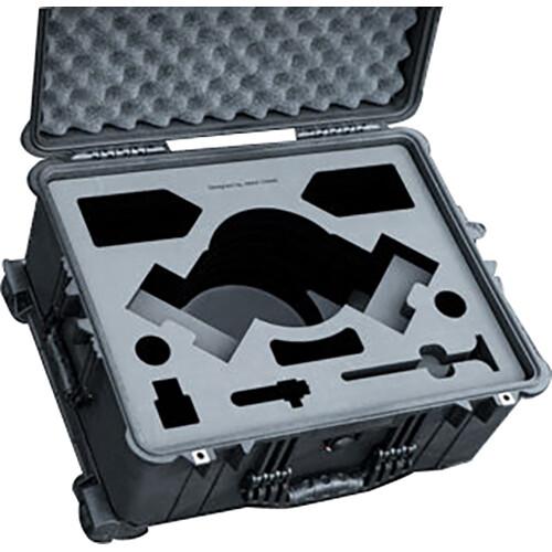 Jason Cases Hard Case with Custom Foam for 1A Tools Alpha Wheels