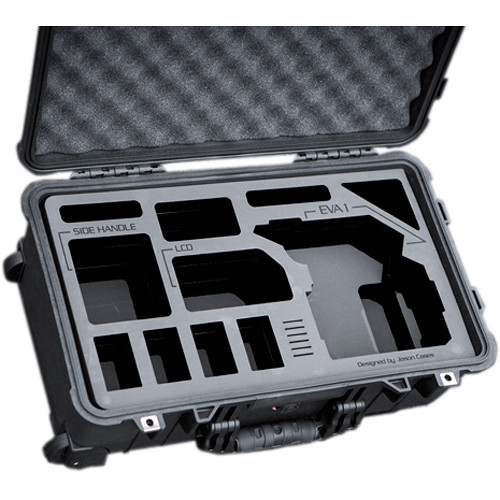 Jason Cases Compact Protective Case with Custom Foam for Panasonic AU-EVA1