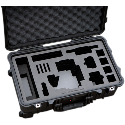 """Jason Cases Hard Travel Case for RED EPIC/SCARLET with 7"""" Touch LCD & MINI-MAG Card"""