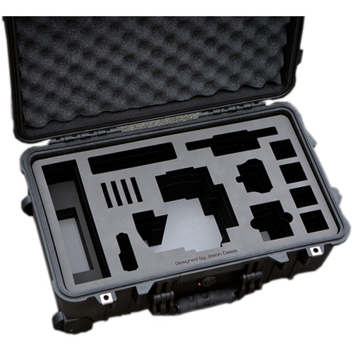 """Jason Cases Hard Travel Case for RED EPIC/SCARLET with 7"""" Touch LCD"""