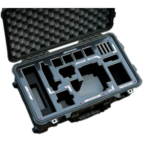 Jason Cases Hard Case for RED DRAGON Camera Kit