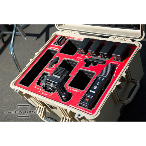 Jason Cases Large Hard Travel Case for RED EPIC and SCARLET