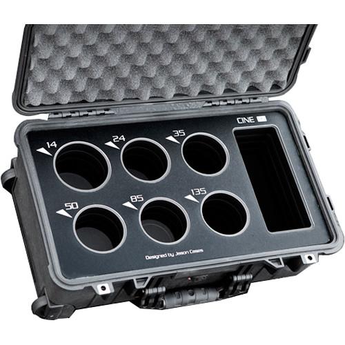 Jason Cases Protective Case for Rokinon Cine DS 6-Lens Bundle